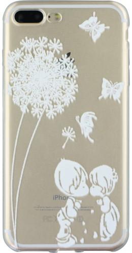 Coque iPhone 7 Plus / 8 Plus - Clear Love Pissenlit