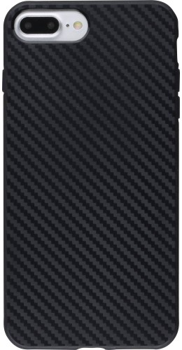 Coque iPhone 7 Plus / 8 Plus - TPU Carbon