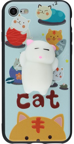 Coque iPhone 7 Plus / 8 Plus - Squishy Chat