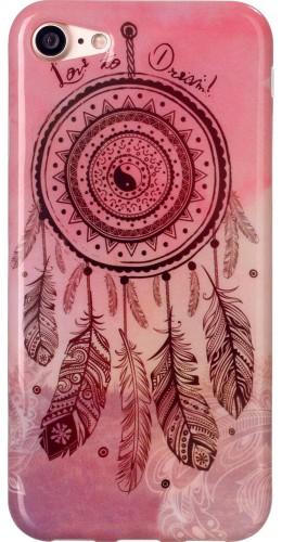 Coque iPhone 7 / 8 - TPU Dreamcatcher rose