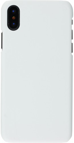 Coque iPhone XR - Plastic Mat blanc