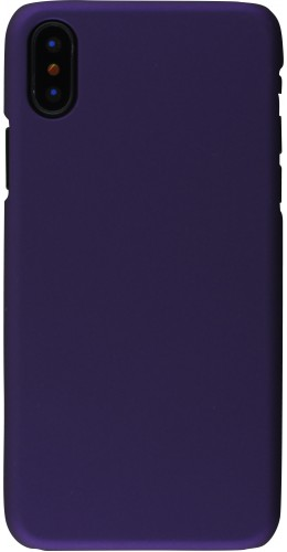 Coque iPhone XR - Plastic Mat violet