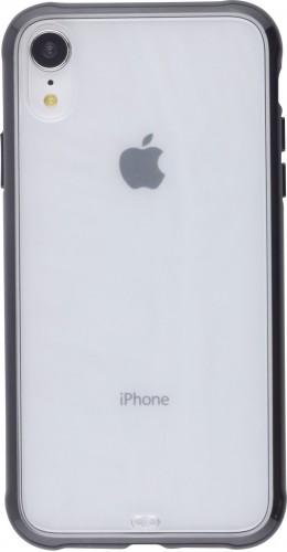 Coque iPhone XR - Bumper Blur noir
