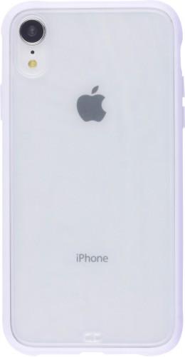Coque iPhone XR - Bumper Blur violet