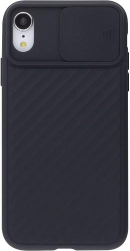 Coque iPhone XR - Caméra Clapet noir