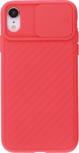Coque iPhone XR - Caméra Clapet rouge