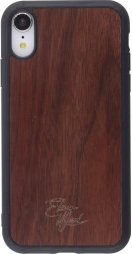 Coque iPhone XR - Eleven Wood Walnut