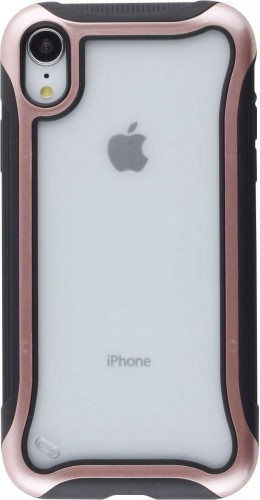 Coque iPhone XR - Hybrid Frosted rose