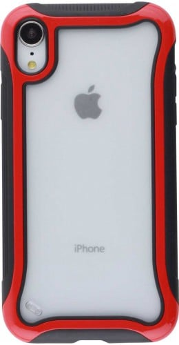 Coque iPhone XR - Hybrid Frosted rouge