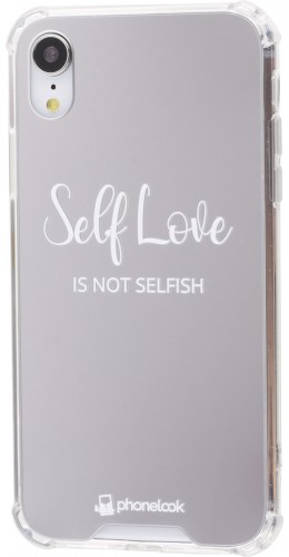 Coque iPhone XR - Miroir Self Love