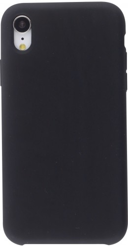 Coque iPhone XR - Soft Touch noir