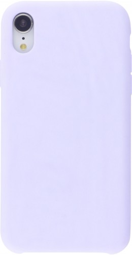 Coque iPhone X / Xs - Soft Touch violet
