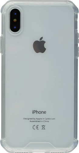 Coque iPhone X / Xs - Bumper Glass transparent