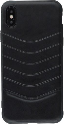 Coque iPhone X / Xs - V Shape noir