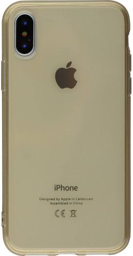 Coque iPhone XR - Gel transparent or