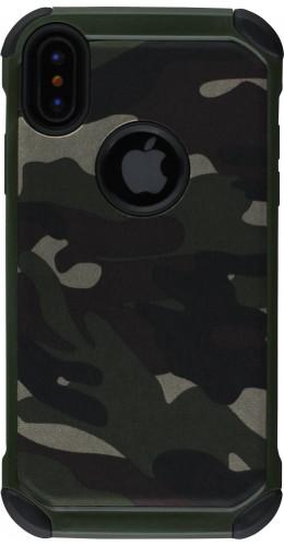 Coque iPhone X / Xs - Militaire vert
