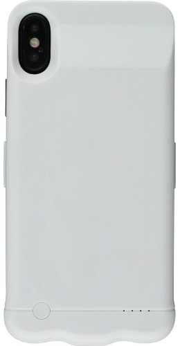 Coque iPhone X / Xs - Power case batterie externe blanc