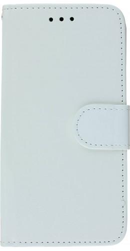 Coque iPhone X / Xs - Premium Flip blanc