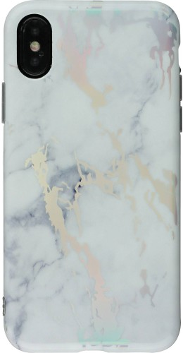Coque iPhone X - Shine Marble C