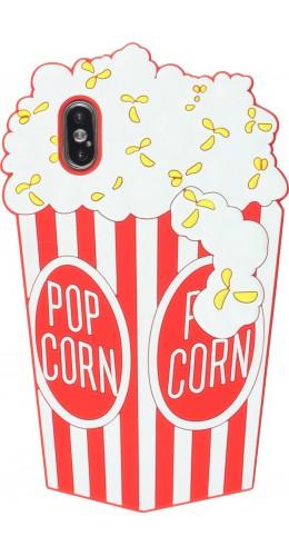 Coque iPhone X / Xs - 3D Fun Pop corn