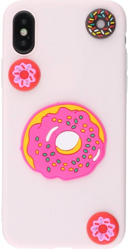 Coque iPhone X / Xs - 3D donuts
