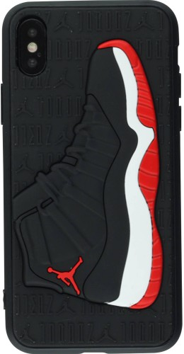 Coque iPhone X / Xs - Air Jordan noir