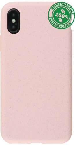 Coque iPhone X / Xs - Bio Eco-Friendly rose