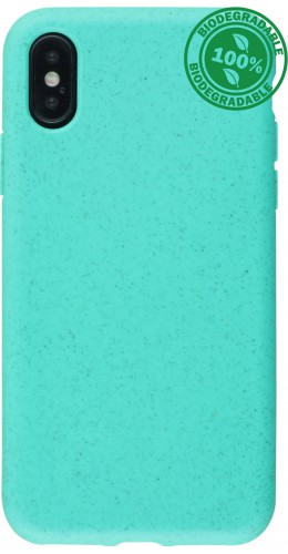 Coque iPhone X / Xs - Bio Eco-Friendly turquoise