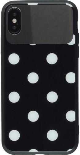 Coque iPhone XR - Mirror Glass points