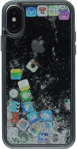 Coque iPhone X / Xs - Water Stars Applications
