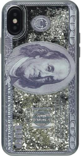 Coque iPhone X / Xs - Water Stars Dollars
