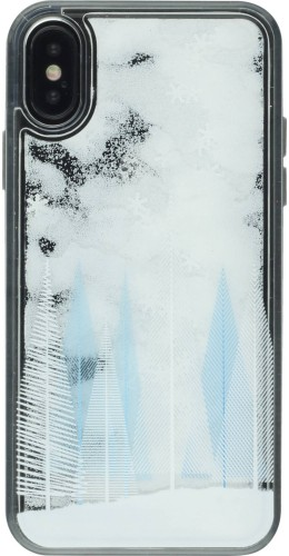 Coque iPhone XR - Water Starts Snowflakes