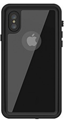 Coque iPhone X / Xs - Water Case Submarine noir