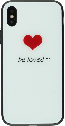Coque iPhone X / Xs - Glass be loved
