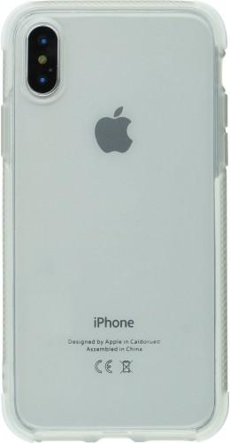 Coque iPhone X / Xs - Bumper Stripes blanc