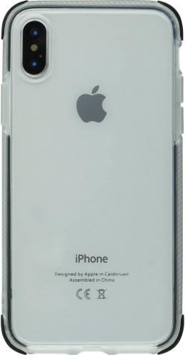 Coque iPhone X / Xs - Bumper Stripes noir