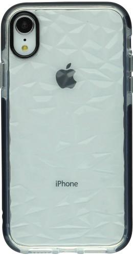 Coque iPhone XR - Clear kaleido noir