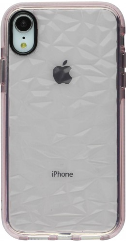 Coque iPhone Xs Max - Clear kaleido rose