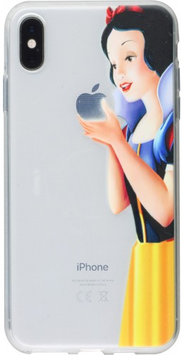 Coque iPhone X / Xs - Blanche neige