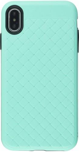 Coque iPhone XR - Braided vert