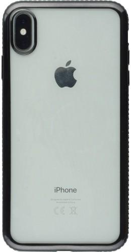 Coque iPhone Xs Max - Bumper Diamond noir