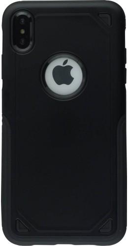 Coque iPhone Xs Max - Defender Case noir
