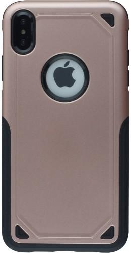Coque iPhone XR - Defender Case rose
