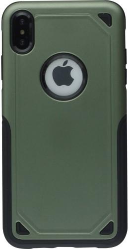 Coque iPhone XR - Defender Case vert foncé