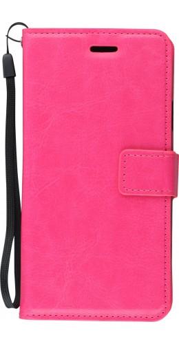 Fourre iPhone Xs Max - Premium Flip rose foncé