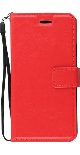 Coque iPhone XR - Premium Flip rouge
