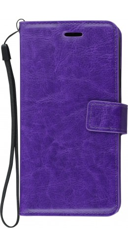 Coque iPhone XR - Premium Flip violet