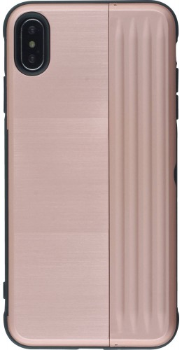 Coque iPhone XR - Secret card rose
