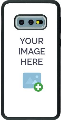 Coque personnalisée en Silicone rigide noir - Samsung Galaxy S10E