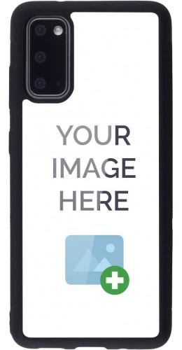 Coque personnalisée en Silicone rigide noir - Samsung Galaxy S20